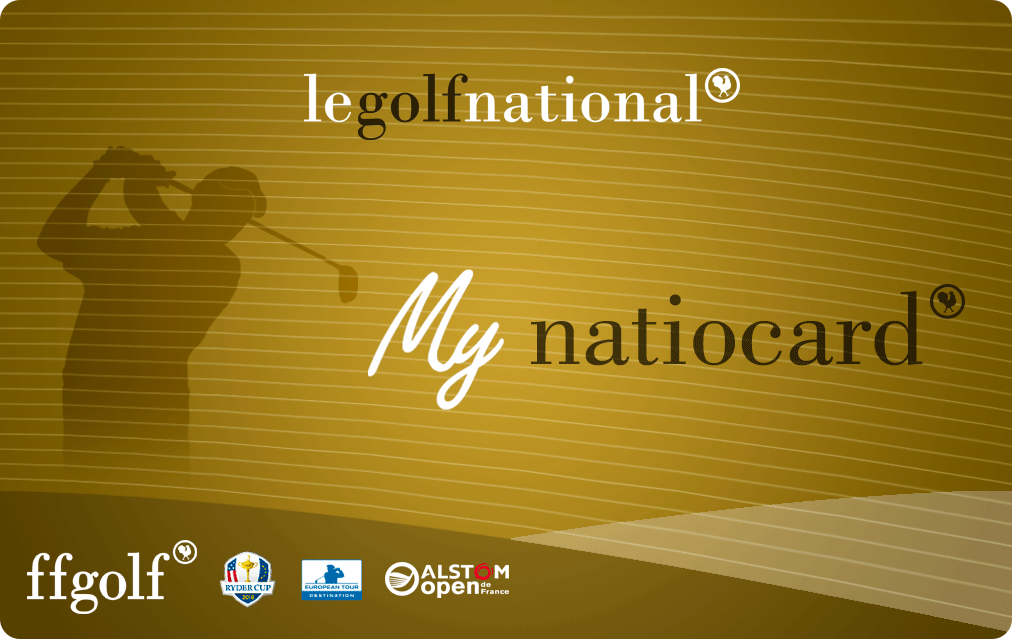 La carte fidelity du Golf National