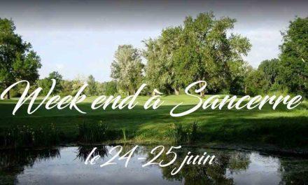 Week end Sancerre 24 – 25 juin