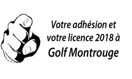 Procédure d'inscription et licence 2018