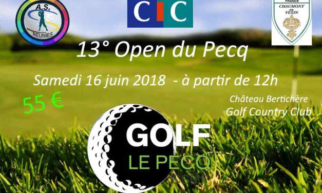 Open du Pecq 16 juin à Bertichère