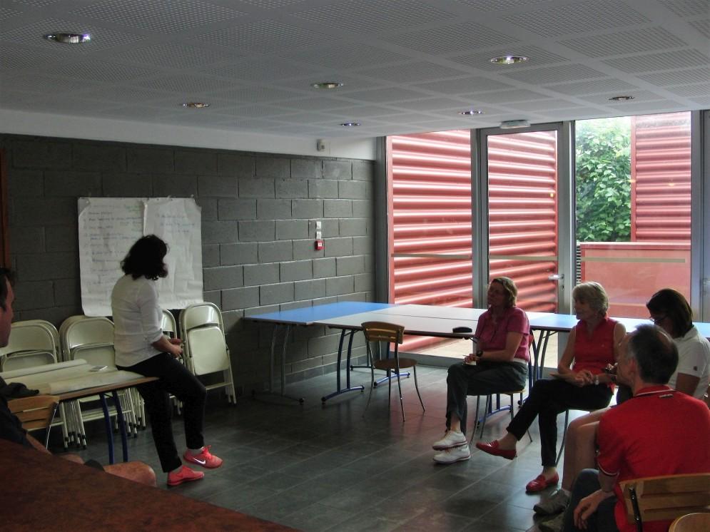 Stage Coach Mental, Technique et Ostéophatie 26 Juin practice de Paris 13