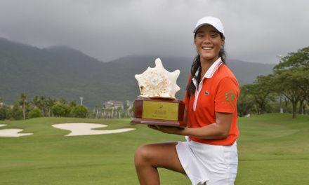 Céline Boutier : première victoire sur le LET Sanya Ladies Open