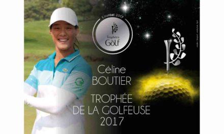 Céline Boutier Golfeuse de l'année 2017
