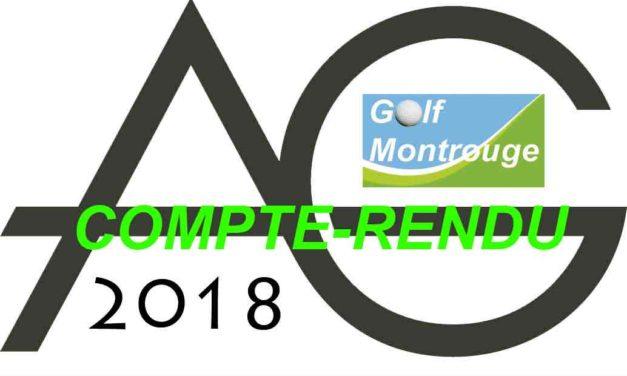 AG 2018 – compte-rendu